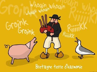 Oc'h oc'h. - Bretagne terre d'harmonie