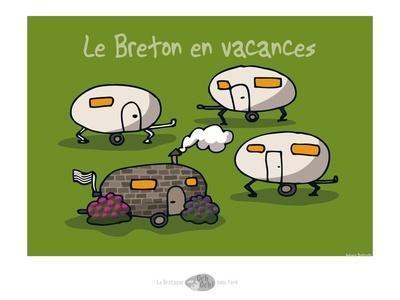 Oc'h oc'h. - Breton en vacances