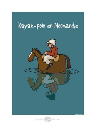 Heula. Kayak-polo normand