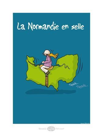 Heula. Normandie en selle