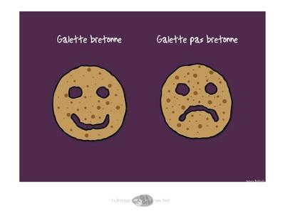 Oc'h oc'h. - Galette bretonne