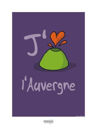 I Lov'ergne - J'aime l'Auvergne