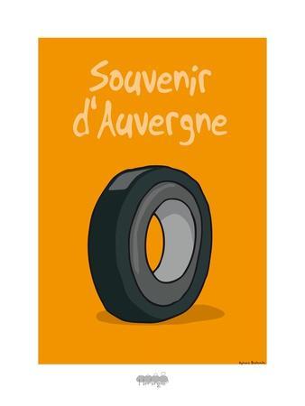 I Lov'ergne - Souvenir d'Auvergne