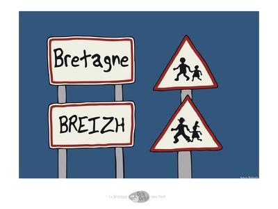 Oc'h oc'h. - Panneaux bretons