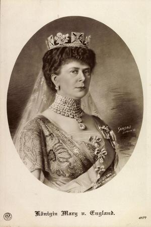 Künstler Sandau, Königin Mary Von England, Npg 4677