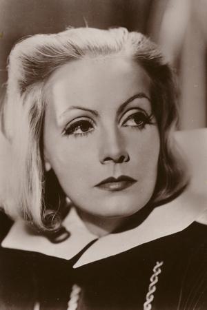 Greta Garbo, Swedish Actress and Film Star
