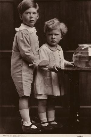 Gerald Lascelles and George Lascelles