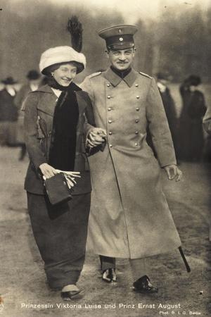 Prinzessin Viktoria Luise, Ernst August,Braunschweig