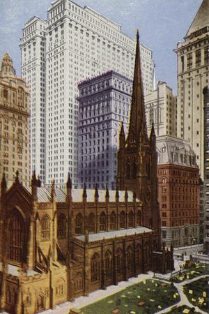 Trinity Church, New York City, USA