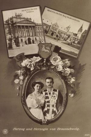 Herzog Und Herzogin Von Braunschweig, Npg 4685