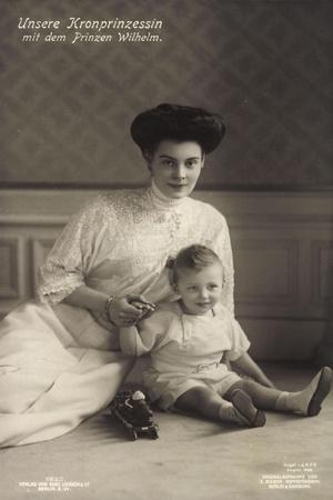 Kronprinzessin Cecilie, Prinz Wilhelm, Liersch 1925