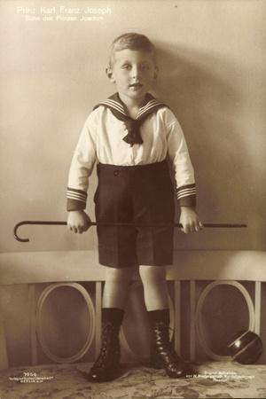 Prinz Karl Franz Joseph Von Preußen, Liersch 7956