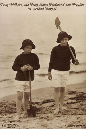 Prinz Wilhelm, Louis Ferdinand, Strand, Liersch 7415