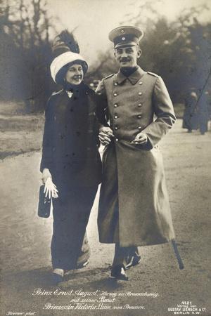 Prinz Ernst August, Prinzessin Victoria Luise