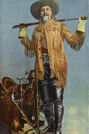 Buffalo Bill, Famous Plainsman and Scout