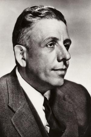 Portrait of Francis Poulenc