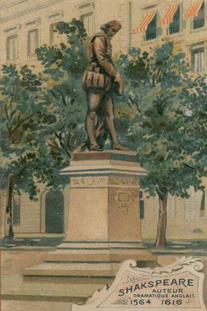 Shakspeare, Auteur, Dramatique Anglais, 1564-1616, Erigee Boulevard Haussmann