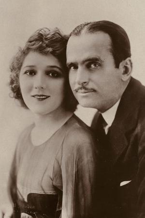 Douglas Fairbanks and Mary Pickford, American Film Actors