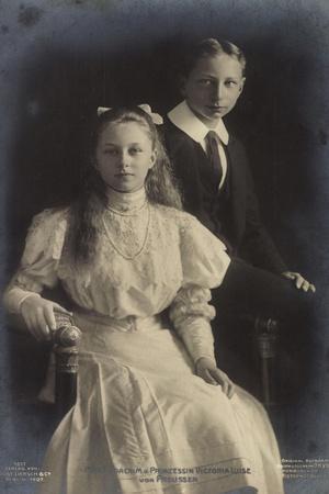 Prinz Joachim Und Prinzessin Victoria Luise