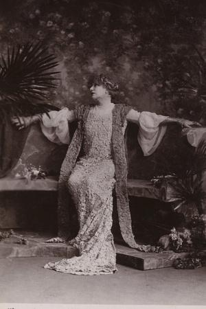 Sarah Bernhardt, French Stage and Film Actress