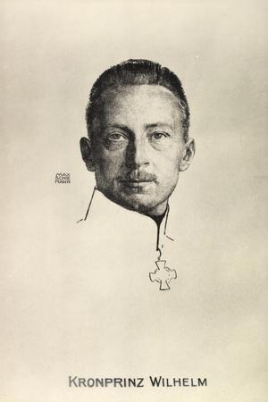 Künstler Schiemann, M., Kronprinz Friedrich Wilhelm
