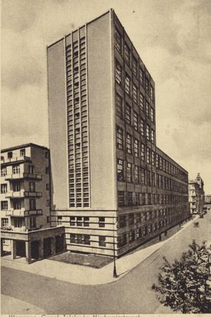 Central Long Distance Telephone Service Office Building, Warsaw