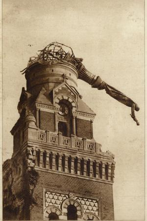 The Suspended Statue of Albert Cathedral, France, World War I