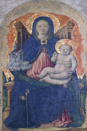 Madonna with Child, Detail of the Praglia Altarpiece