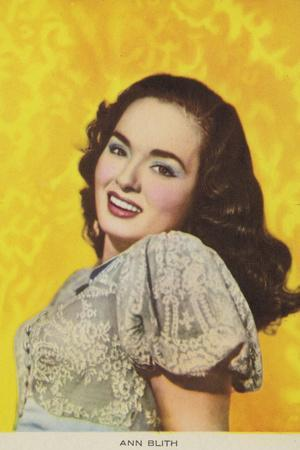 Ann Blyth, American Actress and Film Star