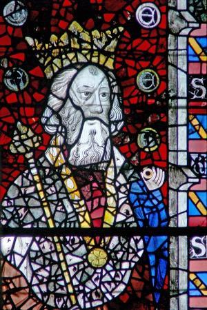 Window W4 Depicting St Edward the Confessor
