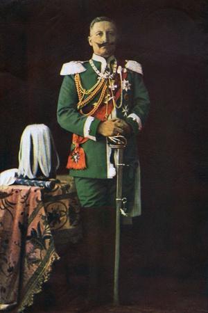 Kaiser Wilhelm II, 1915