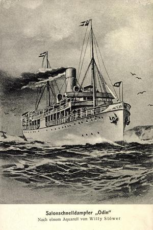Künstler Reederei Frigga, Salonschnelldampfer Odin