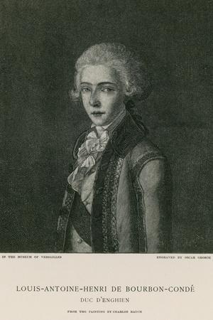 Louis Antoine Henri De Bourbon-Conde