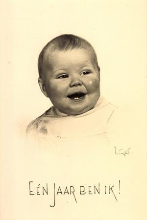 Künstler Prinzessin Beatrix Der Niederlande, 1939