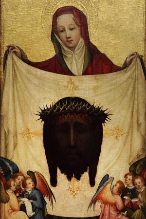 Master of Saint Veronica, St. Veronica with the Holy Kerchief. C. 1420