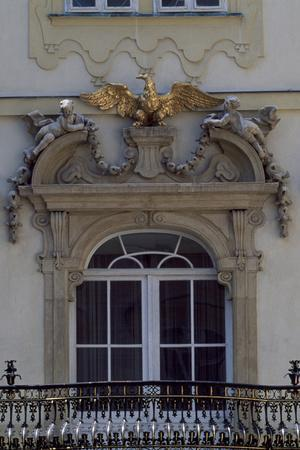 Architectural Detail from Valtice Castle