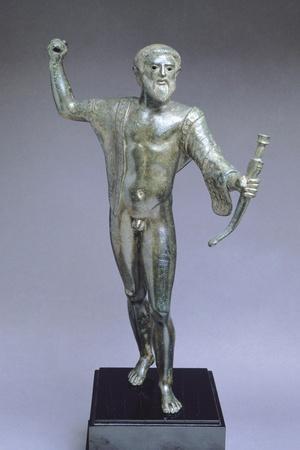 Bronze Statue of Divinity in Battle, from Apiro