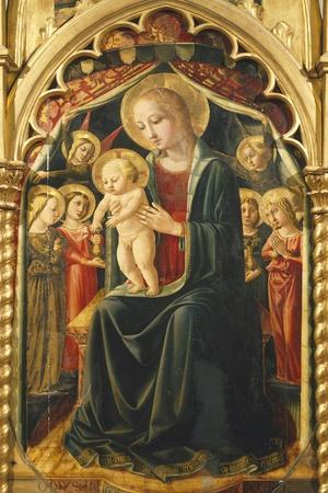 Altarpiece with Madonna with Child