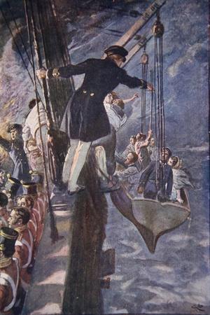 Leaving the Burning Ship, 1914
