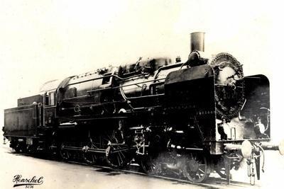 Eisenbahn, Deutschland, Dampflok, 2C3, Nr 20445