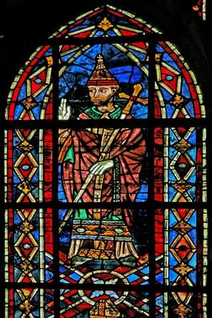 Window W207 Depicting Pope Innocent III