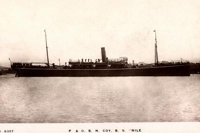 Peninsular and Oriental Steam Navigation, S.S. Nile