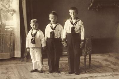 Die Ältesten Söhne D Kronprinzenpaares, Liersch 4257