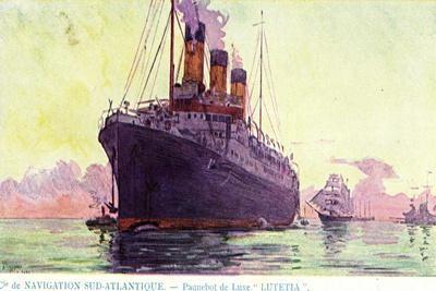 Navigation Sud Atlantique, Dampfschiff Lutetia