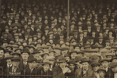Spectators at a Hull V Wigan Rugby League Match