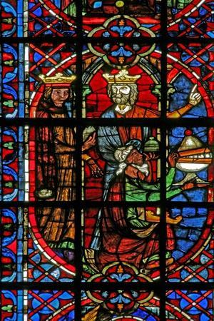Window W203 Depicting the Adoration of the Magi