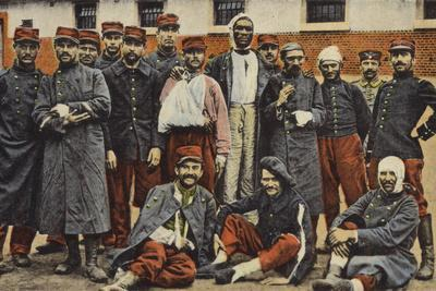 Group of French Soldiers, World War I