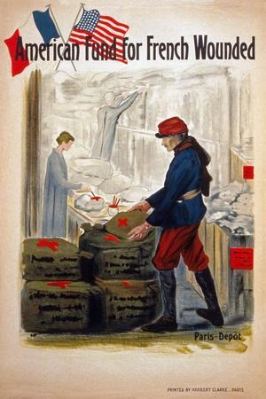 American Fund for French Wounded, C.1917