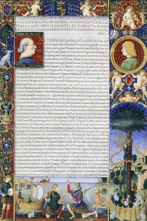 Sforziade: the History of Things Done by Duke Francesco Sforza of Giovanni Simonetta
