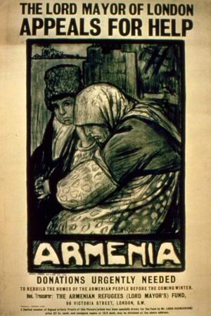 The Lord Mayor of London Appeals for Help for Armenia', C.1915-16